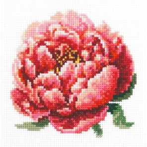 Красный пион Набор для вышивания Чудесная игла 150-009