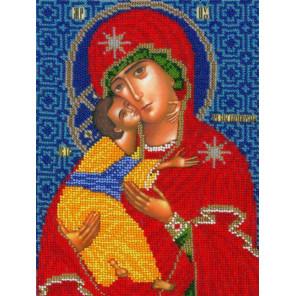 Владимирская Богородица Набор для вышивания бисером Вышиваем бисером L-160