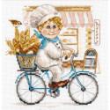 Пекарь Набор для вышивания Алиса 6-10