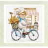 Вариант оформления в рамке Пекарь Набор для вышивания Алиса 6-10