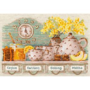 Tea Time Набор для вышивания Риолис 1873