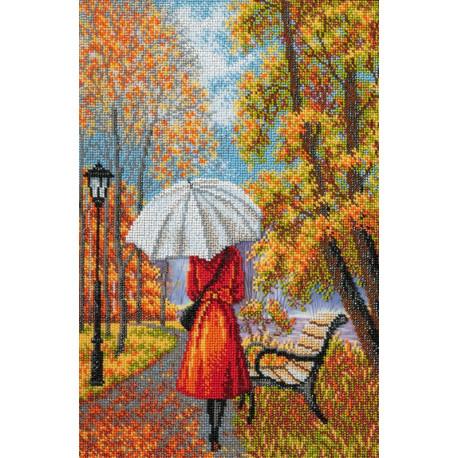Музыка дождя Набор для вышивания бисером КРОШЕ-Радуга бисера В-287