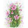 Симфония цветов Набор для вышивания МП-Студия А-034