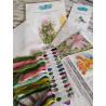 Состав набора Симфония цветов Набор для вышивания МП-Студия А-034