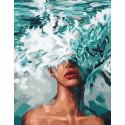 Море во мне Раскраска картина по номерам на холсте GX40506