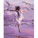 Унесенная ветром Раскраска картина по номерам на холсте GX40339