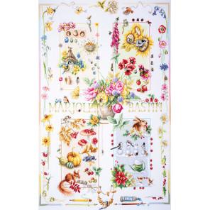 Four seasons Набор для вышивания LANARTE PN-0188067