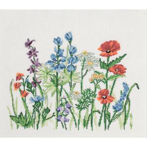Полевые цветы Набор для вышивания PERMIN 70-0306
