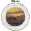 Лошади Набор для вышивания PERMIN 13-0736