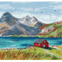 Лофотенские острова Набор для вышивания Овен 1280