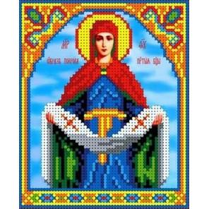 Покров Пресвятой Богородицы Габардин с нанесенным рисунком Каролинка ТКБИ 5074