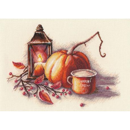 Осенний натюрморт Набор для вышивания Овен 1307