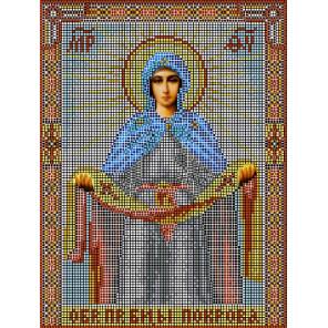 Покрова Пресвятой Богородицы Набор для вышивания бисером Матренин Посад 3006 БГ