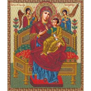 Богородица Всецарица Набор для вышивания бисером Русская искусница 506
