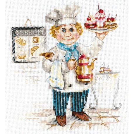 Кондитер Набор для вышивания Алиса 6-12