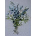 Букет с лилиями Набор для вышивания лентами Любава ВЛ-1025
