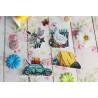 Времена года. Лето. Магниты Набор для вышивания на пластиковой канве МП Студия Р-579