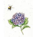 Трудяжка пчела Набор для вышивания Bothy Threads XHD75