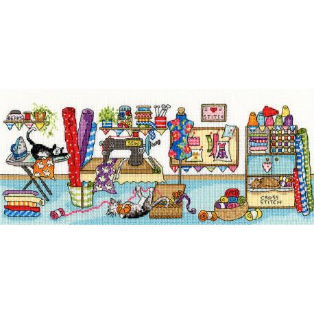 Швейные забавы Набор для вышивания Bothy Threads XJR38
