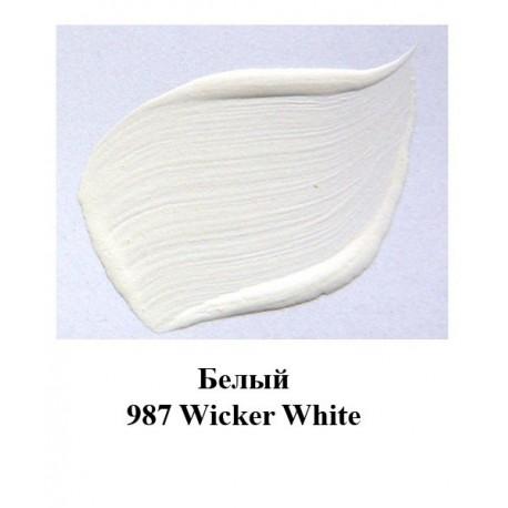 987 Белый Краска акриловая FolkArt Plaid