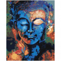 Красочный будда 100х125 Раскраска картина по номерам на холсте