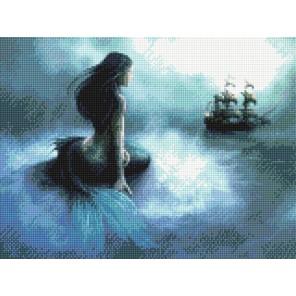 Мечты русалки Алмазная вышивка (мозаика) Sddi Anya