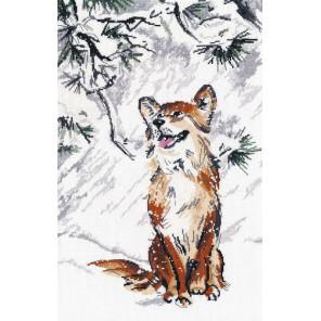 Падал первый снег Набор для вышивания Овен 1267