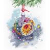 Новогоднее настроение Набор для вышивания Овен 1274