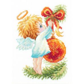 Ангел рождества Набор для вышивания Чудесная игла 160-001