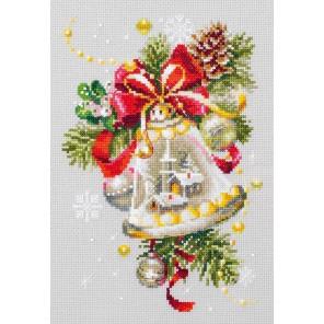 Рождественский колокольчик Набор для вышивания Чудесная игла 100-232