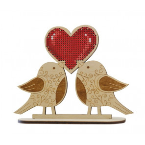 Крылатая любовь Набор для вышивкиОвен 1193
