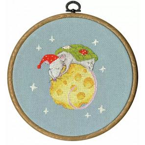 Сладкий сон Набор для вышивания Золотое руно МТ-028