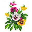 Услада сердца Канва с рисунком для вышивки Каролинка КК 057