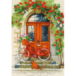 Дверь в Италию Набор для вышивания Риолис 1831