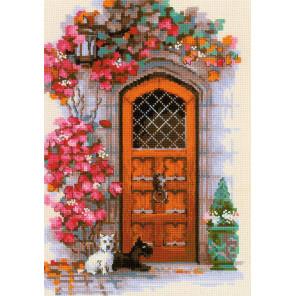 Дверь в Шотландию Набор для вышивания Риолис 1832