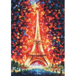 Ночной Париж Набор для вышивания Золотое руно ОО-016