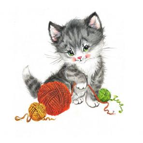 Игровой котенок Набор для вышивания Матренин Посад 6120 СК