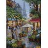 Дождливый Париж Набор для вышивания Merejka K-162