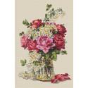 Розы Набор для вышивания Merejka K-39