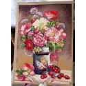 Цветы купидона Набор для вышивания Merejka K-91