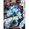 Ирис лофт Алмазная вышивка мозаика Color Kit DKD1002