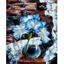 Ирис лофт Раскраска картина по номерам CG2023