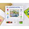 Коробка Итальянский причал Алмазная вышивка мозаика Color Kit KUK112