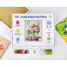 Коробка Роскошь пионов Алмазная вышивка мозаика Color Kit KU100