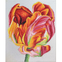 Тюльпан Алмазная вышивка мозаика Color Kit KUK108