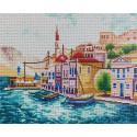 Морской пейзаж Алмазная вышивка мозаика Color Kit KUK110