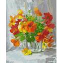 Оранжевое чудо Картина по номерам на холсте Color Kit CG2011