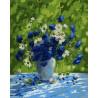 Васильковое лето Картина по номерам на холсте Color Kit CG2014