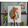 Пример оформления готовой работы Рождение Картина по номерам на холсте Color Kit CG2005