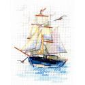 Парусник Набор для вышивания Алиса 0-222